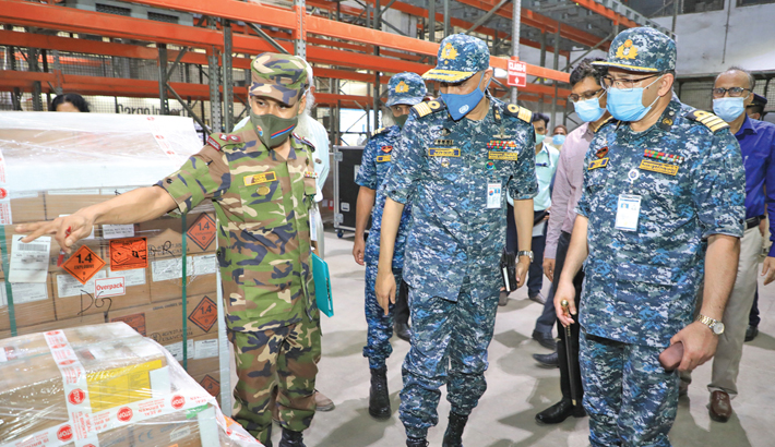 BNACWC team visits chemical warehouse at HSIA