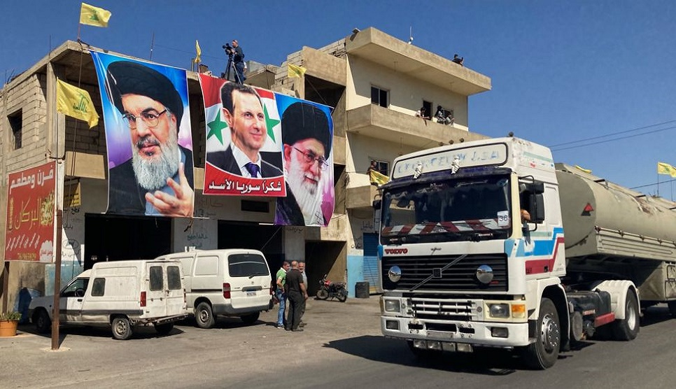 Hezbollah brings Iranian fuel into Lebanon