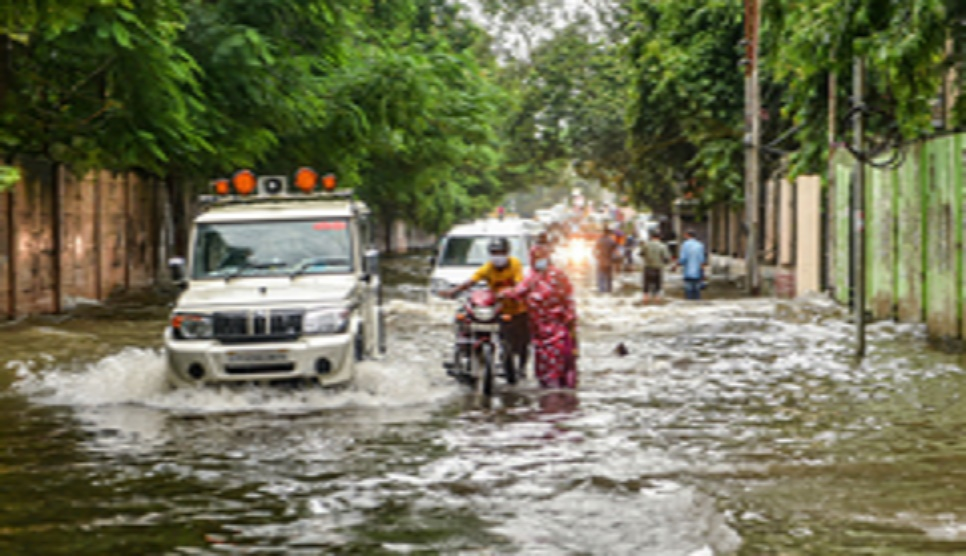 Schools, colleges shut in India's UP  amid heavy rains