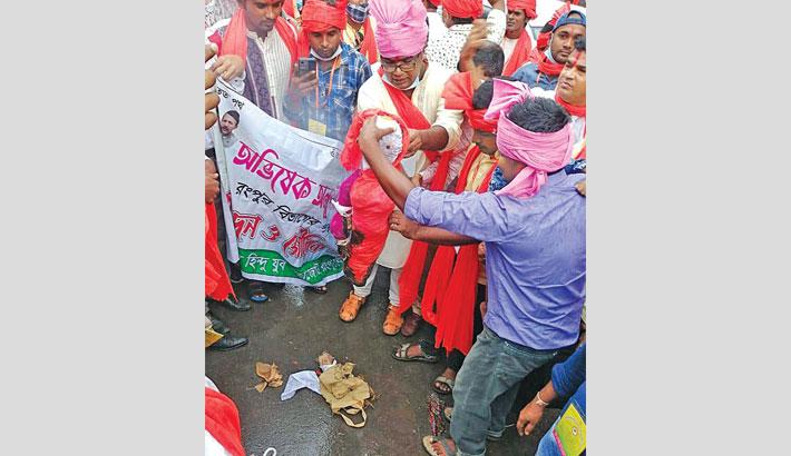 Bring Mahfuz Anam, wife to justice: Hindu Mohajote