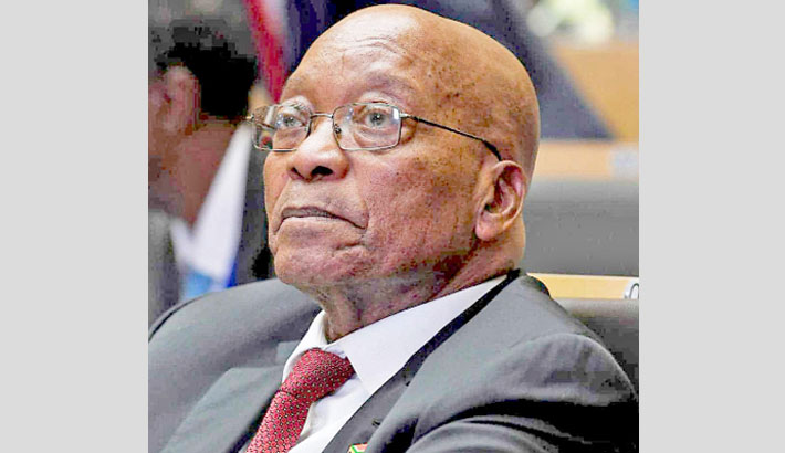 South Africa's top court stands by order to jail Zuma