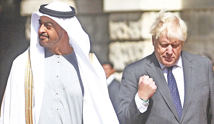 50-year-old UAE to pour billions into UK