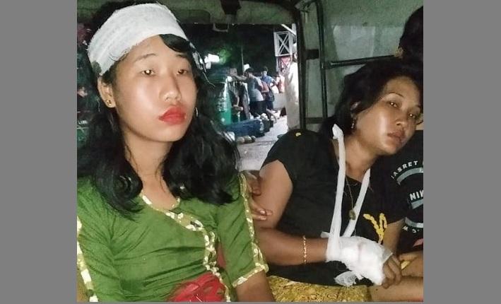 Two Marma women injured in Bandarban firing