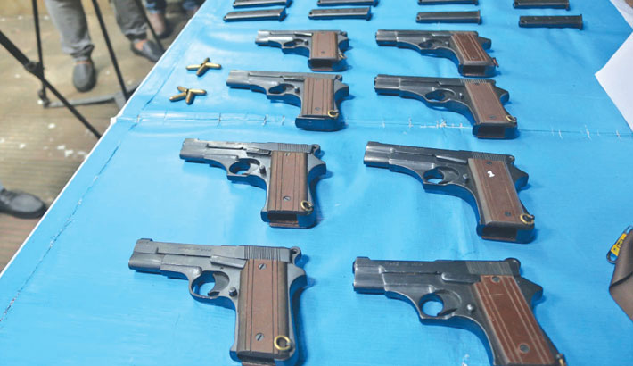 Smuggling of arms goes unchecked