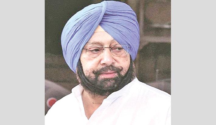 Amarinder Singh resigns as Punjab CM