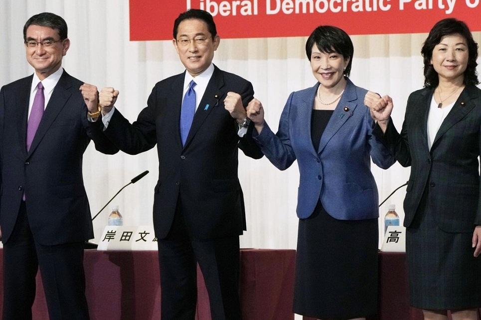 Japan steps towards first female leader