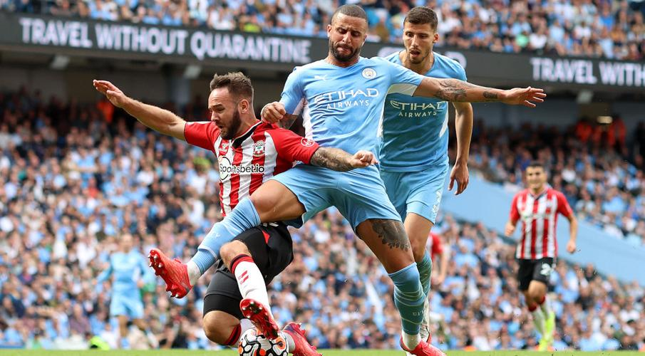 Man City frustrated in Southampton draw