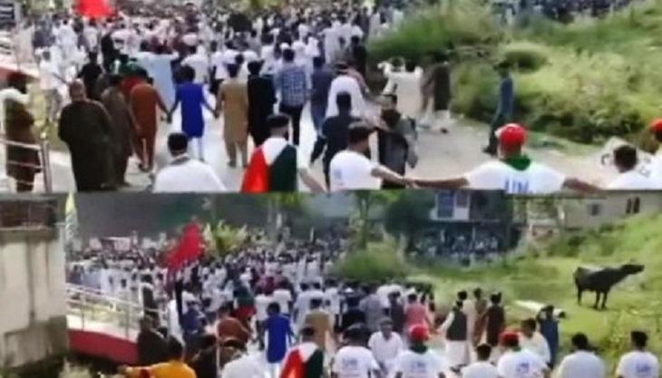 Massive Protest In PoK's Pallandari Against Pakistan Govt, Citizens Allege 'harassment'