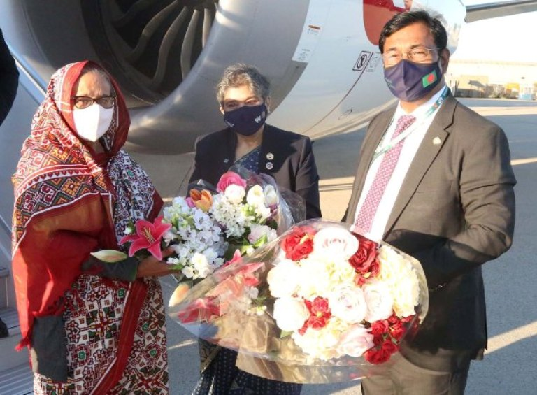 PM reaches New York to attend 76th UNGA