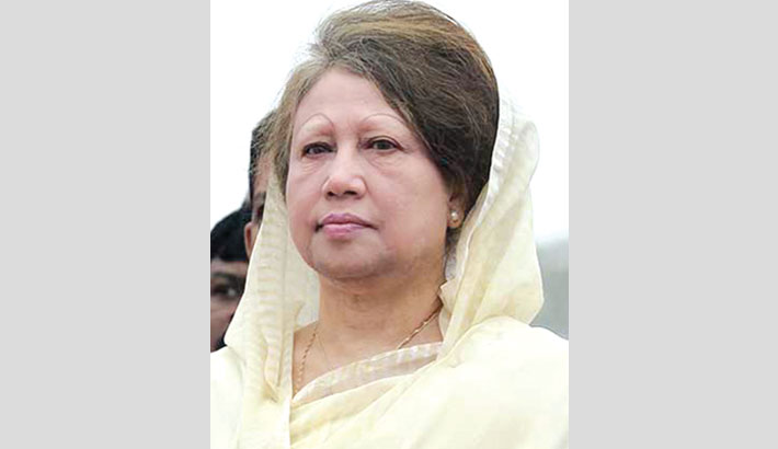 Khaleda to stay out of jail for 6 more months
