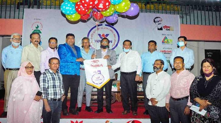 Bandarban make flying start in Youth Handball