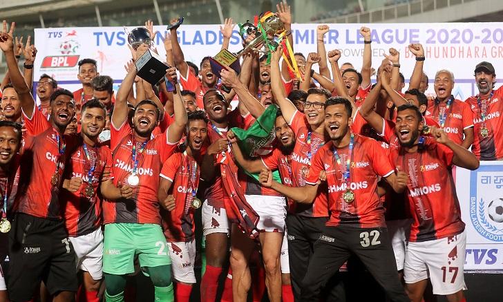 Bashundhara Kings crowned BPL champions