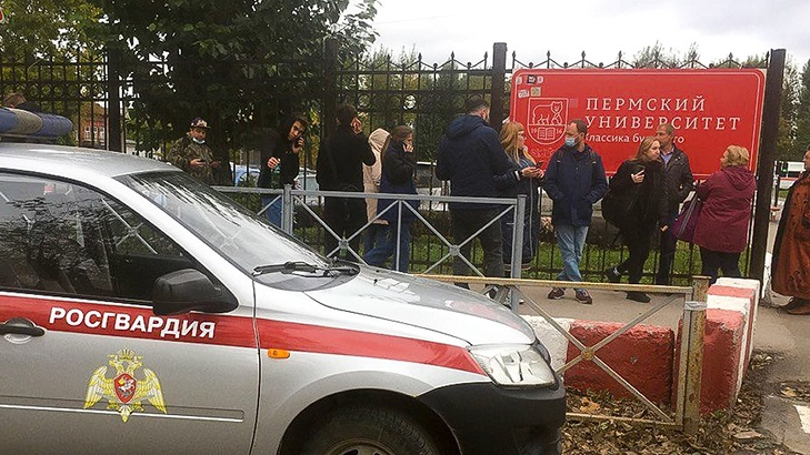 At least eight dead in Russian campus shooting