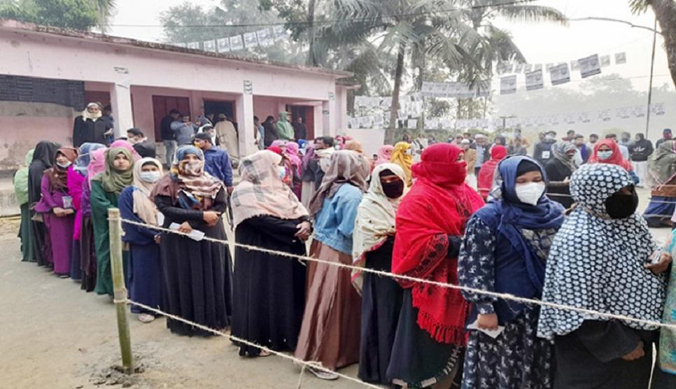 Voting to 160 Union Parishads, 9 municipalities ends
