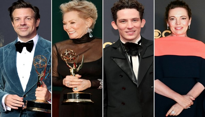 List of Emmy winners includes Jean Smart, 'Ted Lasso' actors