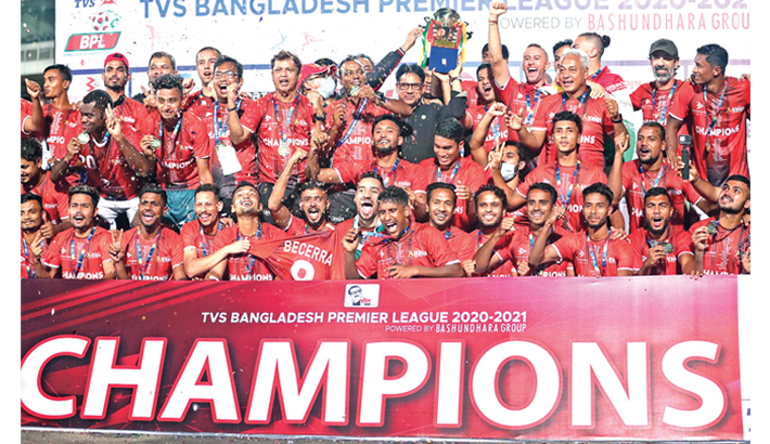 Kings crowned BPL champions