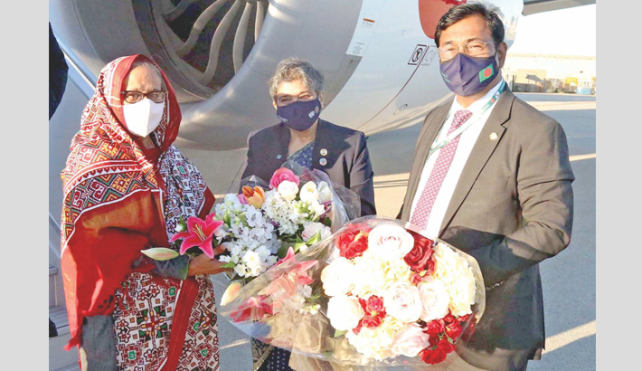 PM reaches NY to attend UNGA