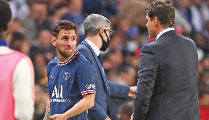 Pochettino plays down decision to take off Messi