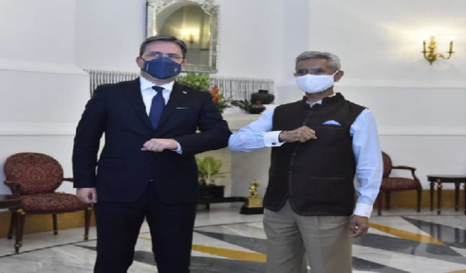 Taking Strong, Traditional Friendship Forward: Jaishankar Welcomes Serbian Counterpart Nikola Selokovic To India