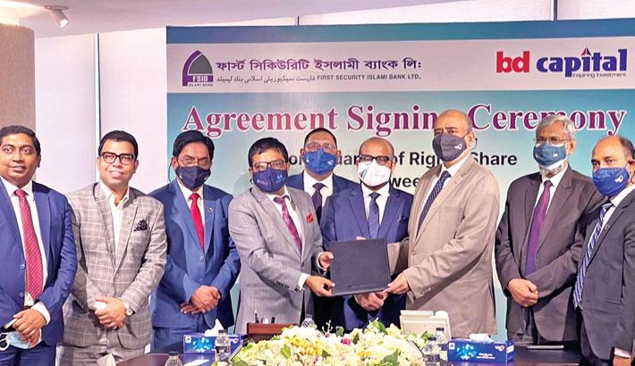BD Finance Capital Holdings, FSIBL ink deal