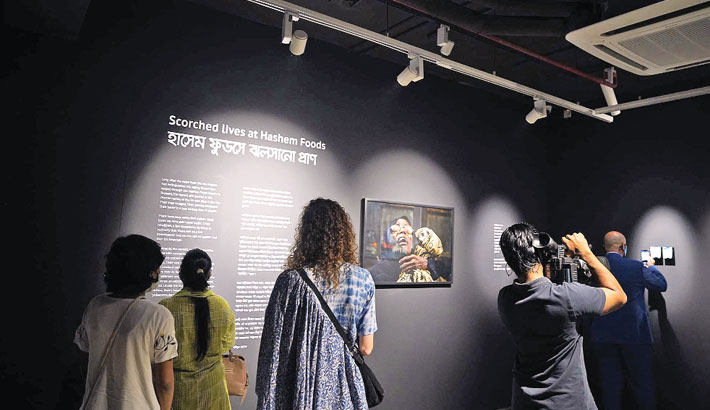 Exhibition 'Scorched Lives at Hashem Foods' extended