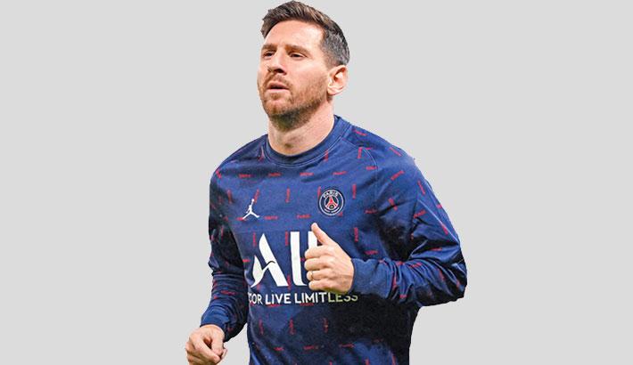Injured Messi ruled out of PSG-Metz game midweek