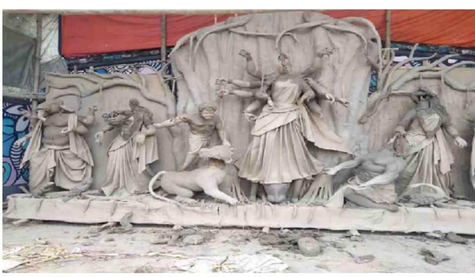 Idols of Hindu deities damaged in Kushtia