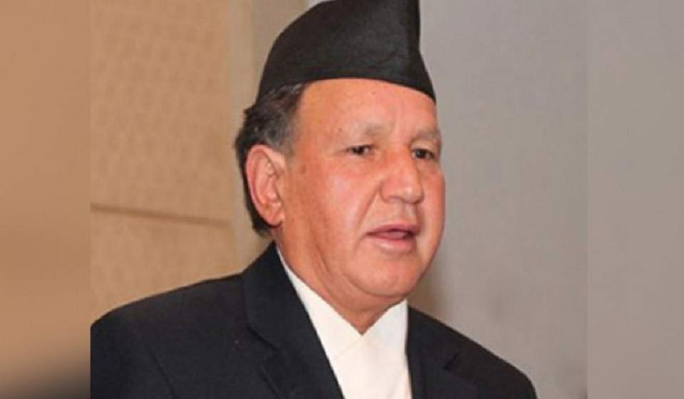 Narayan Khadka appointed Nepal's foreign minister