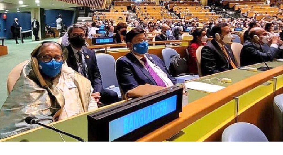 PM joins opening day high-level general debate of 76th UNGA