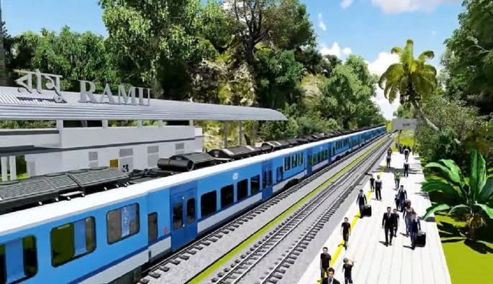 Train service on Dohazari-Cox's Bazar route to begin next year: Minister