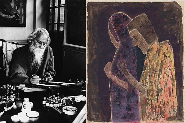 Rabindranath Tagore's painting for rare UK auction