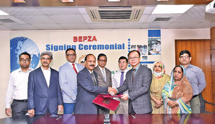 Chinese co to invest $6.55m in Dhaka EPZ