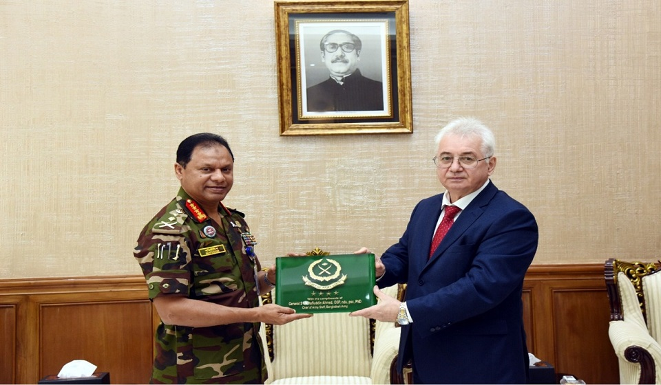 Russian Ambassador calls on Army Chief