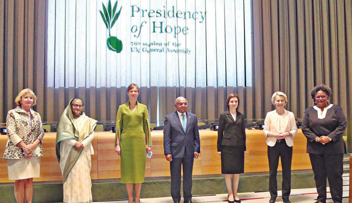 PM for forming Women Leaders' Network to pursue gender equality