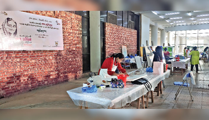Two-day art camp on Sheikh Hasina's 75th birthday at BSA