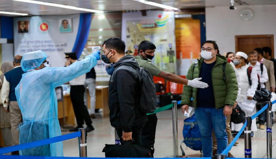 Corona test at Dhaka airport for outbound passengers from Saturday