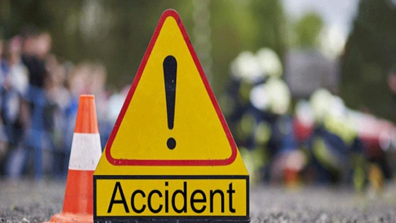 Two die in Naogaon road crash