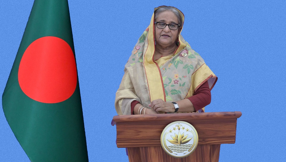 Hasina calls for declaring Covid-19 vaccine 'global public goods'