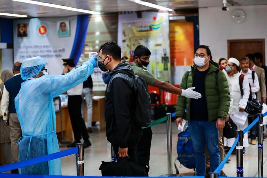 Covid testing at Dhaka airport to begin Saturday