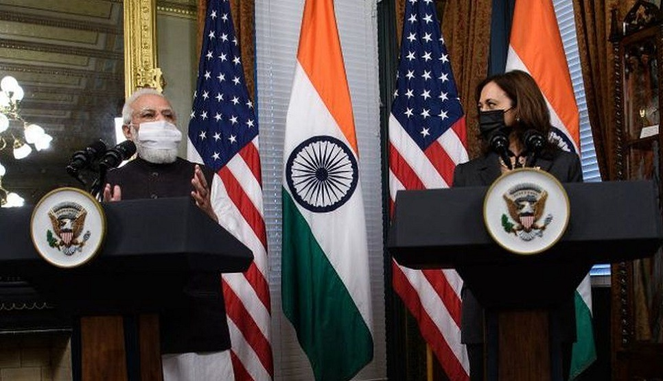 Indian PM Modi meets first Indian American VP Harris