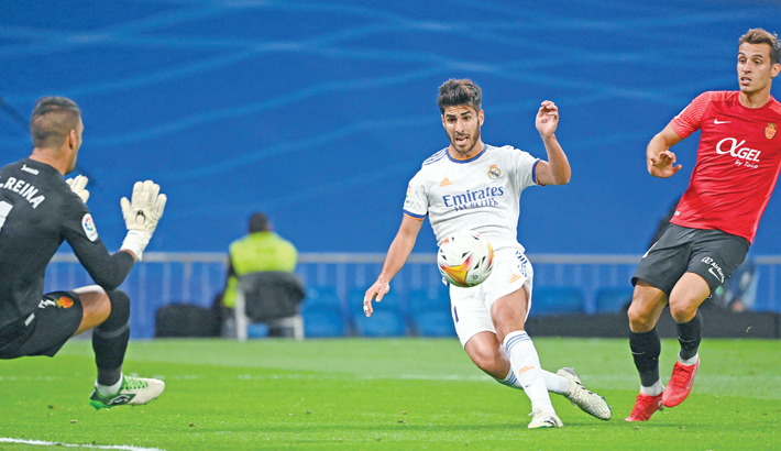 Asensio bags hat-trick in Real win