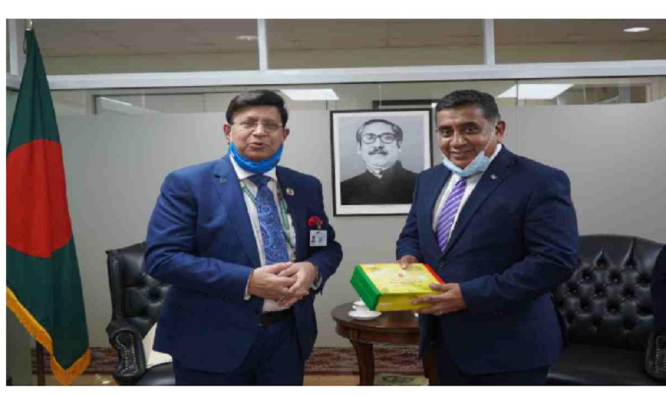 Dhaka, London discuss shared priorities ahead of COP26