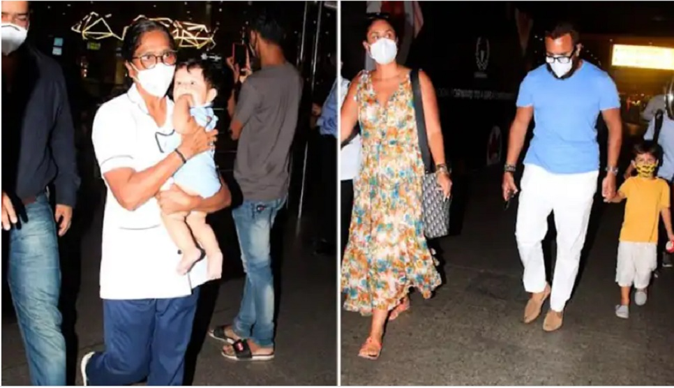 Kareena, Saif are back from Maldives with their super-expensive nannies