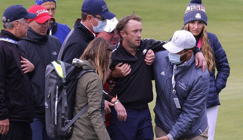 Harry Potter's Tom Felton collapses at golf event