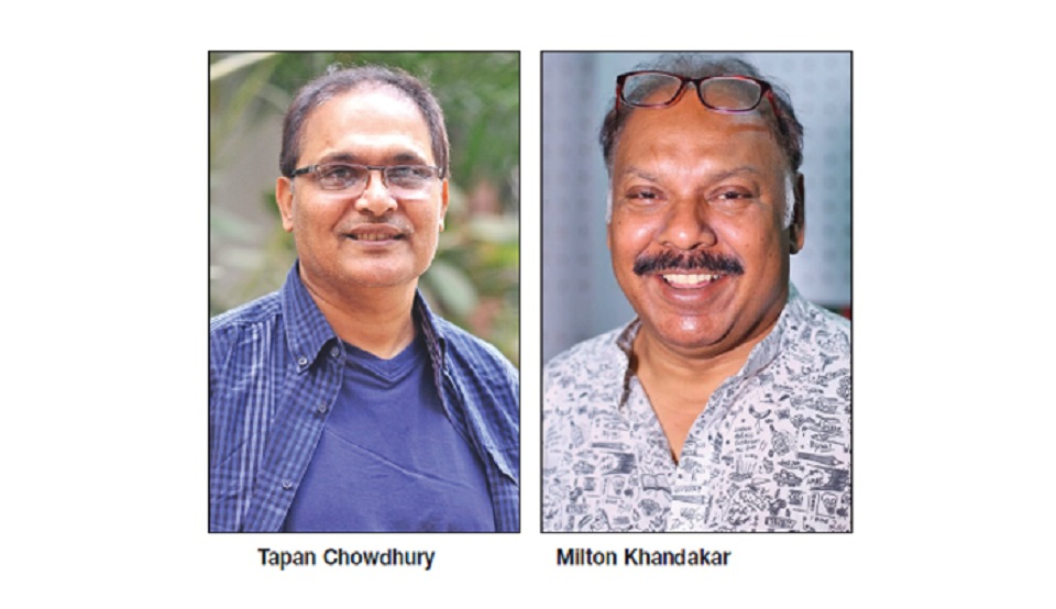 Tapan Chowdhury lends voice to Milton's song after 15 years