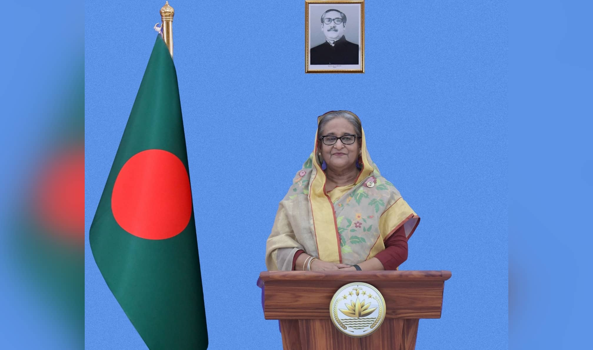 PM Hasina for eliminating vaccine divides in world