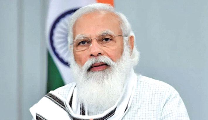 India and America 'natural partners', Modi tells Harris