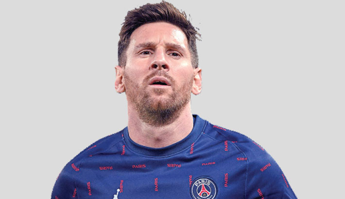 Injured Messi to miss out for PSG again