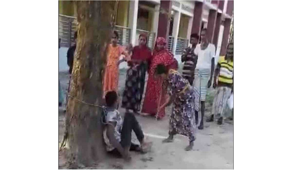 Thrashing is the price Thakurgaon youth pays for love