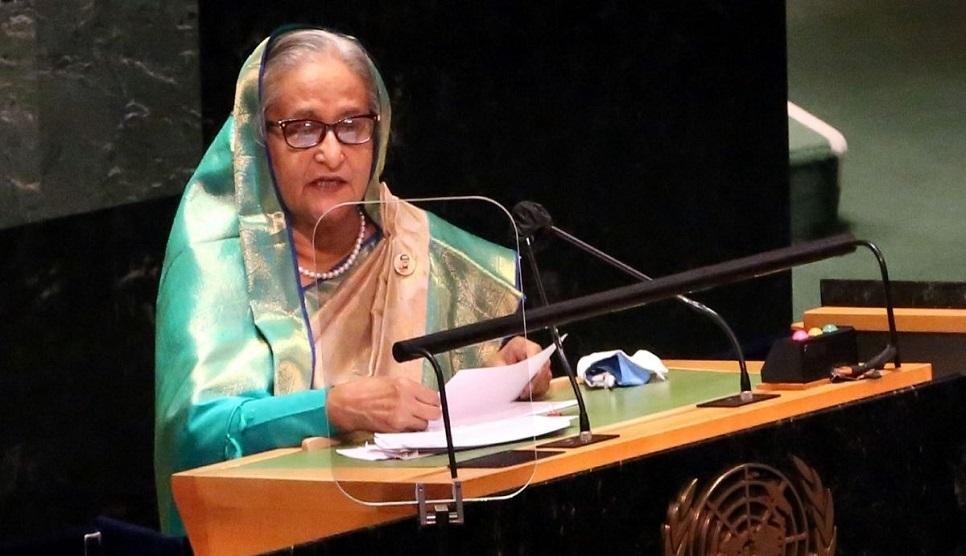 PM blasts those tarnishing Bangladesh's image abroad